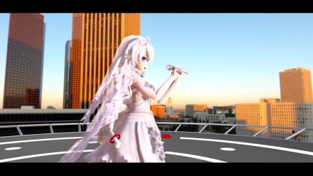 【崩坏3~婚纱式琪亚娜】今天是女儿出嫁之日新郎官去哪了【模型配布】