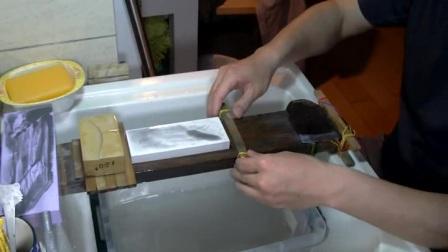 飞段240-10000目砥石测试(老刨刃、锰65钢)
