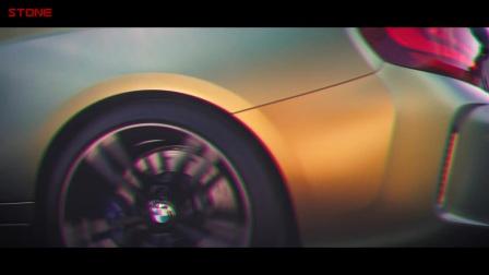 STONE巨石排气 BMW M2排气管全段 跑街版