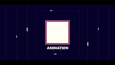 AE模板-创意图形文字快闪图片视频开场 Cinematic Typography Intro