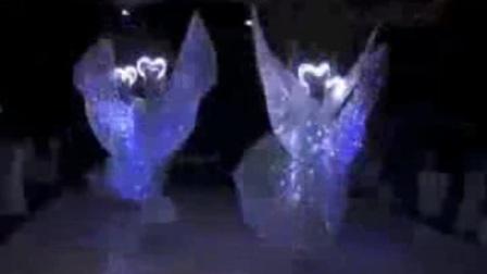 成都蝶恋花 weixin+jcrs15 成都发光蝴蝶舞 成都夜光舞蹈