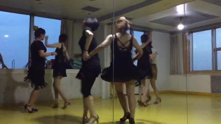 西安华翎拉丁舞中级班牛仔双人组合指导老师:徐杰