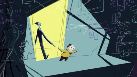 搞笑幽默 有趣 国外奇幻动画短片 吸血鬼和推销