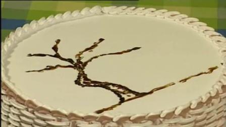 卡通蛋糕图片 北海道戚风蛋糕 面包机怎么