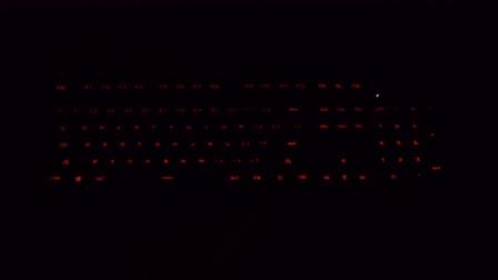 火酷震机械键盘灯光效果演示