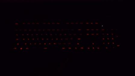 火酷震机械键盘灯光效果