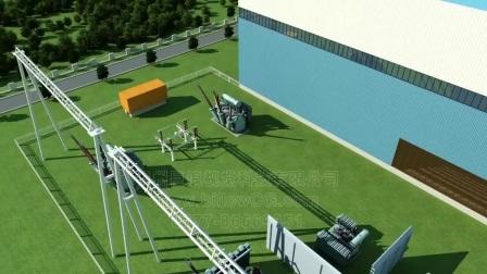 巨浪视觉 电厂动画 电网宣传片 工业产品三维动画制作