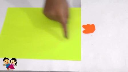 幼儿园亲子手工视频:立体卡纸大公鸡,喔喔喔,栩栩如生形象逼人