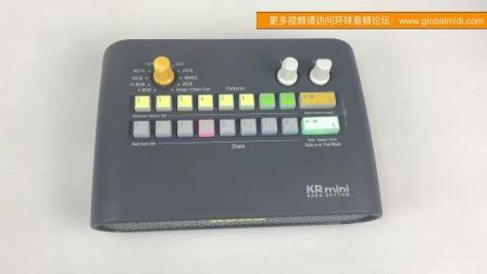 KORG 科音 KR-MINI 便携迷你节奏器 鼓机