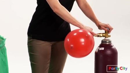 生日party上的气球装饰教程
