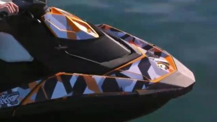 三华动力2017 喜度摩托艇SPARK火花90马力摩托艇