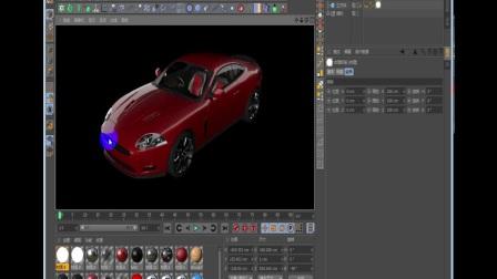 【AE/C4D】教程汽车渲染场景合成案列