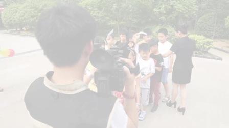 央视拍摄东方作文活动纪实