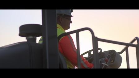 沃尔沃建筑设备_筑造未来_南非库加风电场