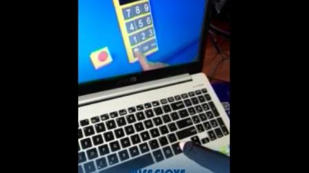 WISEGLOVE数据手套实现虚拟键盘的游戏