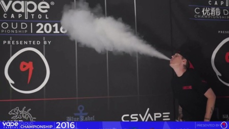 一品蒸汽 vape国外电子烟最新花式玩法戒烟替烟大烟雾吐烟圈推烟圈教程教学108