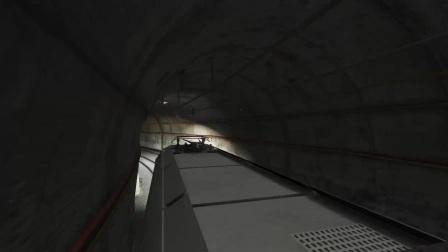 GTA5 体验开火车 绕岛一圈