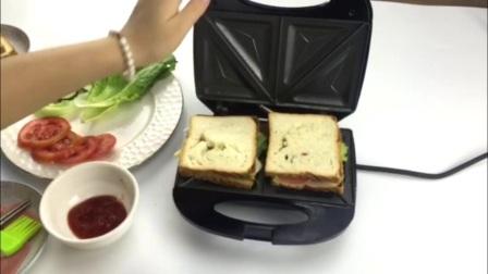TEABLES/泰博斯SP-016S三明治机蛋糕煎饼家用电饼铛烤面包早餐机