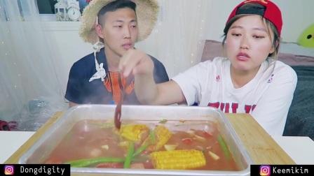 【英文吃播】Keemi吃海鲜2篇(2)_美食