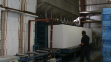 方圆板机-block moulding machine工厂实景