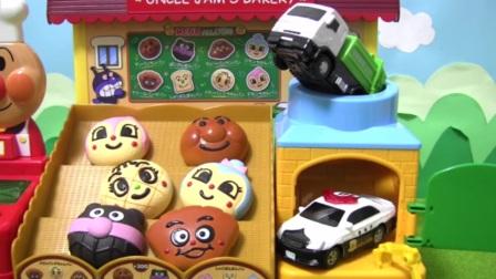 面包超人玩具小狗炉☆动漫玩具铲东西清扫
