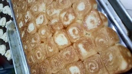 蜂蜜小面包韩式烤馍配方做法视频教学