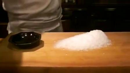 包丁でカキ氷(切り氷)宇治金時・大和の 和の甘味