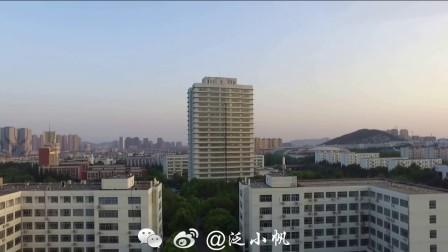 航拍江苏师范大学2017