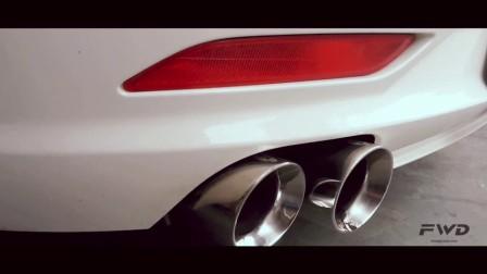 宝马Z4 20i FWD Exhaust 排气中尾段 电子可变阀门