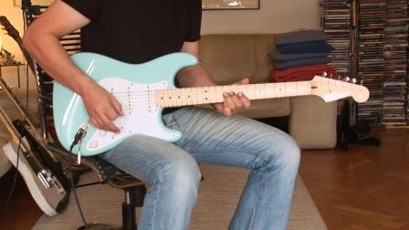谷估堂 Fender Custom Shop Eric Clapton Signature LTD. Edition, daphne blue Part2