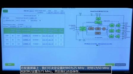 一次性可编程和可再编程的时钟产生器OmniClockI2C/SMBus现场演示