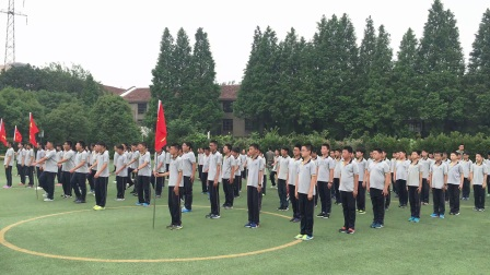 上海梅山第二中学六(4)班军事夏令营  2017.06.29