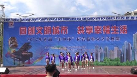 怀安公园群众演出舞蹈合集