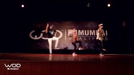 【5BBOY】Girish  - FrontRow - World of Dance Mumbai Qualifier 2017 - #WODMUM17