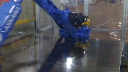 珠海克鲁斯机器人PCB钢板磨刷