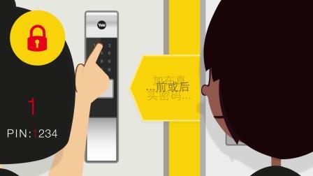 耶鲁电子锁视频:虚位密码功能
