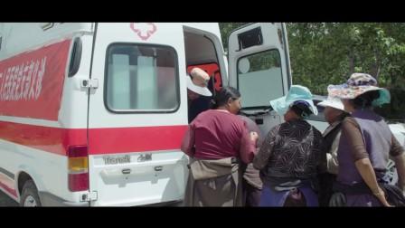 庆祝建党96周年-甘孜县人民医院支部结队共建义诊
