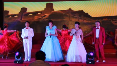天津中新生态城庆建党演出:男女声四重唱《为祖国干杯》