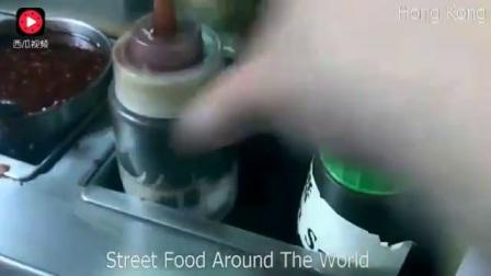 香港街头各色小吃, 不愧是美食天堂