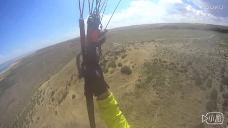 青海伞友Mr.Tom滑翔伞龙羊峡飞行