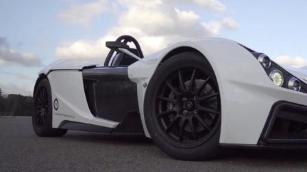 赛道日之车, Elemental RP1试驾。英国制造,中置福特涡轮增压引擎