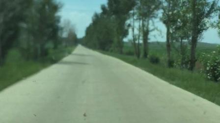 011乡道在去科尔沁中旗的路上