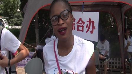 2017 Olympic Day-Volunteers say hello(奥林匹克日活动-中华志愿者问候)