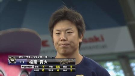 2017.07.01 松葉投手ヒーローインタビュー