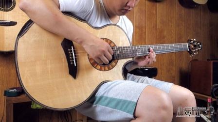 Jeffrey Yong spruce-mokeypod JJ 手工吉他评测试听