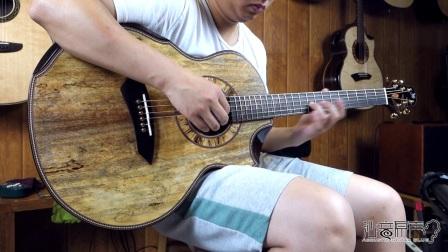Jeffrey Yong mongo JJ 手工吉他评测试听