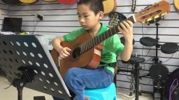 练习曲(卡路里) 琴放吉他班