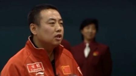 刘国梁: 昨天碰见赵本山, 给予王皓很大的肯定, 这种第二的精神也能感动所有人