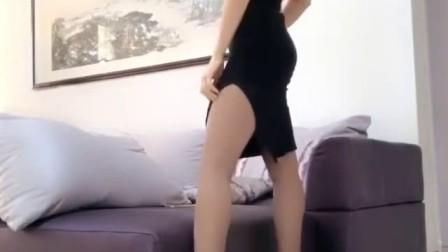 好漂亮的长腿美女, 身材也棒
