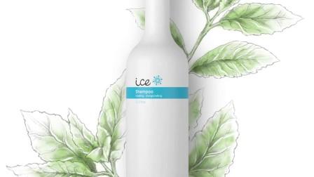 欧莱德零度C洗发水能带给你的大脑天然的冰镇沁凉感!